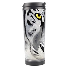 The Eye Of The Tiger Travel Tumblers by timelessartoncanvas