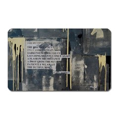 The Dutiful Rise Magnet (rectangular) by timelessartoncanvas