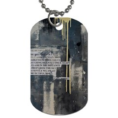 The Dutiful Rise Dog Tag (two Sides) by timelessartoncanvas