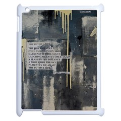 The Dutiful Rise Apple Ipad 2 Case (white) by timelessartoncanvas