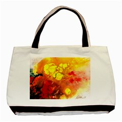 Fire, Lava Rock Basic Tote Bag
