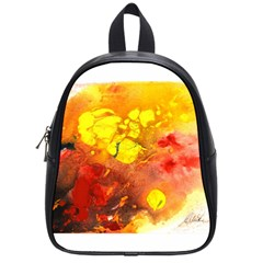 Fire, Lava Rock School Bags (small)