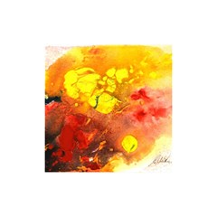 Fire, Lava Rock Shower Curtain 48  X 72  (small)  by timelessartoncanvas