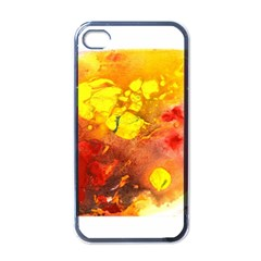 Fire, Lava Rock Apple Iphone 4 Case (black)