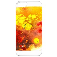 Fire, Lava Rock Apple Iphone 5 Classic Hardshell Case