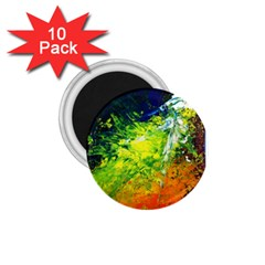 Abstract Landscape 1 75  Magnets (10 Pack)