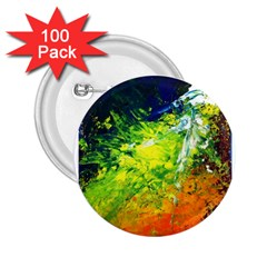 Abstract Landscape 2 25  Buttons (100 Pack)