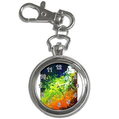 Abstract Landscape Key Chain Watches