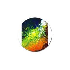 Abstract Landscape Golf Ball Marker (4 Pack)