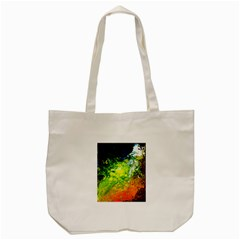 Abstract Landscape Tote Bag (cream)