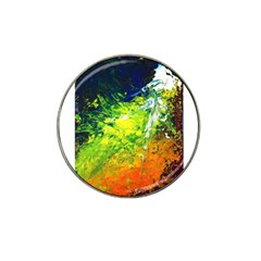 Abstract Landscape Hat Clip Ball Marker