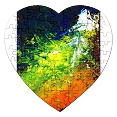 Abstract Landscape Jigsaw Puzzle (heart)