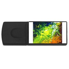 Abstract Landscape Usb Flash Drive Rectangular (4 Gb)