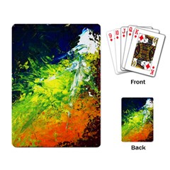 Abstract Landscape Playing Card