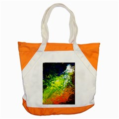 Abstract Landscape Accent Tote Bag