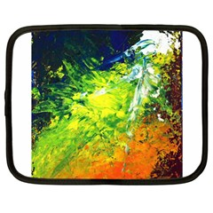 Abstract Landscape Netbook Case (large)