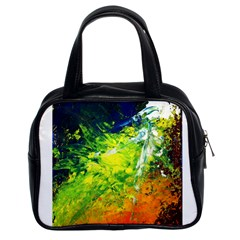 Abstract Landscape Classic Handbags (2 Sides)