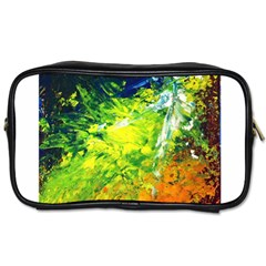 Abstract Landscape Toiletries Bags 2 Side