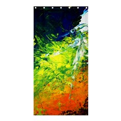 Abstract Landscape Shower Curtain 36  X 72  (stall)