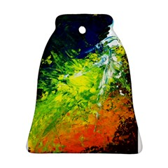 Abstract Landscape Bell Ornament (2 Sides)