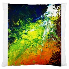 Abstract Landscape Large Cushion Cases (two Sides)