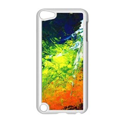 Abstract Landscape Apple Ipod Touch 5 Case (white)