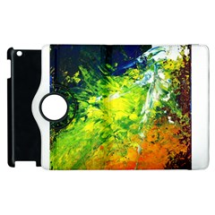 Abstract Landscape Apple Ipad 3/4 Flip 360 Case