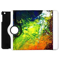 Abstract Landscape Apple Ipad Mini Flip 360 Case