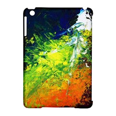 Abstract Landscape Apple Ipad Mini Hardshell Case (compatible With Smart Cover)