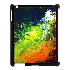 Abstract Landscape Apple Ipad 3/4 Case (black) by timelessartoncanvas