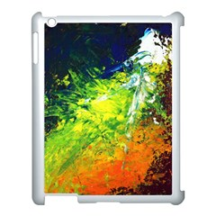 Abstract Landscape Apple Ipad 3/4 Case (white)