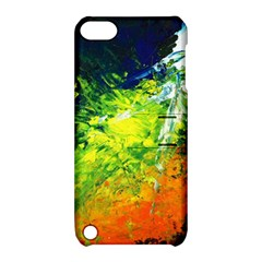Abstract Landscape Apple Ipod Touch 5 Hardshell Case With Stand