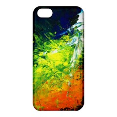 Abstract Landscape Apple Iphone 5c Hardshell Case by timelessartoncanvas