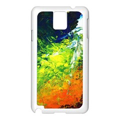 Abstract Landscape Samsung Galaxy Note 3 N9005 Case (white)