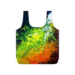 Abstract Landscape Full Print Recycle Bags (s)