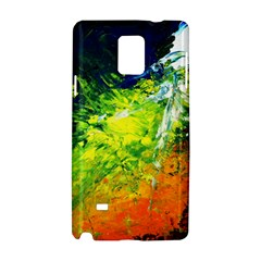 Abstract Landscape Samsung Galaxy Note 4 Hardshell Case