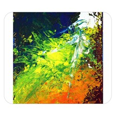 Abstract Landscape Double Sided Flano Blanket (small)