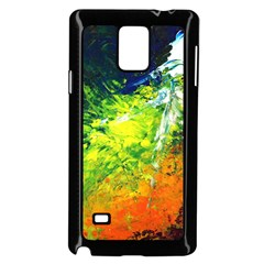Abstract Landscape Samsung Galaxy Note 4 Case (black)