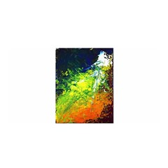 Abstract Landscape Satin Wrap