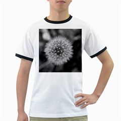 Modern Daffodil Seed Bloom Ringer T-shirts by timelessartoncanvas
