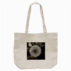 Modern Daffodil Seed Bloom Tote Bag (cream)