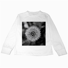 Modern Daffodil Seed Bloom Kids Long Sleeve T Shirts