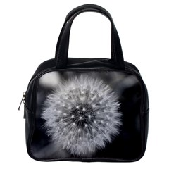 Modern Daffodil Seed Bloom Classic Handbags (one Side) by timelessartoncanvas
