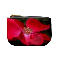 Bright Red Rose Mini Coin Purses by timelessartoncanvas