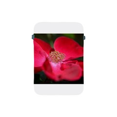 Bright Red Rose Apple Ipad Mini Protective Soft Cases