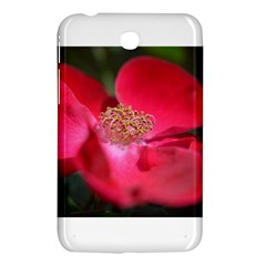 Bright Red Rose Samsung Galaxy Tab 3 (7 ) P3200 Hardshell Case  by timelessartoncanvas
