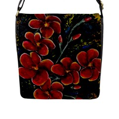 Hawaii Is Calling Flap Messenger Bag (l)  by timelessartoncanvas