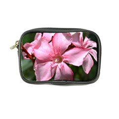 Pink Oleander Coin Purse by timelessartoncanvas