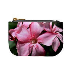 Pink Oleander Mini Coin Purses by timelessartoncanvas