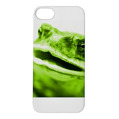 Green Frog Apple Iphone 5s Hardshell Case